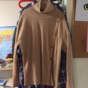 SHEIN Curve sweater 3XL true to size NEW brown
